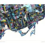 """""""Toronto 16x20 w sig and loc"""" by carlandcartography"""