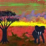 """Serengeti"" by LimeCreekArt"