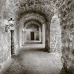 """Mission Concepcion Hallway"" by eyeates"