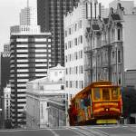 """San Francisco Cable Car - Highlight Photo Art"" by Art-America"