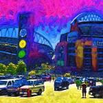 """Seattle Century Link Stadium"" by Kirtdtisdale"