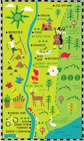 Illustrated Map of Hudson Valley by Nate Padavick