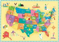 Illustrated Map of the USA by Nate Padavick