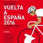 """MY VUELTA A ESPANA MINIMAL POSTER 2016"" by Chungkong"