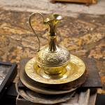 """Antique Brass Pitcher"" by raetucker"