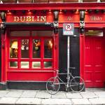"""Red Dublin Pub"" by raetucker"