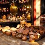 """""""Pottery in the Bazaar"""" by raetucker"""