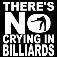 There's No Crying In Billiards