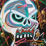 """Carnie Skull"" by ArtPrints"