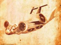 Surreal Vintage Aircraft 03
