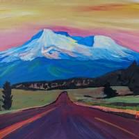 Mystical_Mt_Shasta_-_White_Mountain_In_Cascades_Ra Art Prints & Posters by M Bleichner