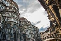 Florence Cattedrale diSanta Maria del Fiore Stormy
