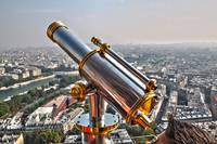 Eiffel Tower Second Floor Binocular