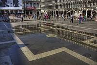Reflections in Piazza San Marco