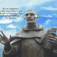 Go in Confidence - St. Dominic Art Prints & Posters by Barbara Schwarz