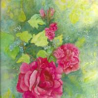 Fragrant Rose Art Prints & Posters by Joan  L. Mester