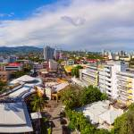"""Cebu City Mountain View Panorama"" by lightningman"