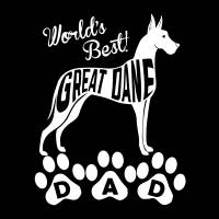 World's Best Great Dane Dad Art Prints & Posters by Kevin G