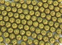 Gold Colored Metal Beads