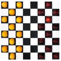 Apple checkers Art Prints & Posters by Yaroslava Polosina