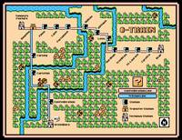 Ottawa O-Train Map in SMB3 Style