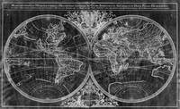 World Map (1691) Black & White