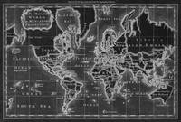 World Map (1766) Black & White