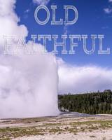 Yellowstone's Iconic Old Faithful