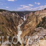 """The Grand Canyon of the Yellowstone River"" by rYgardner"