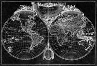 World Map (1775) Black & White