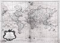 World Map (1778) White & Black