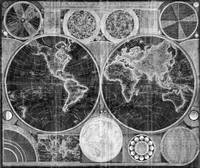 World Map (1794) Black & White