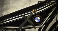 1925 BMW Motorcycle Detail
