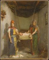 Scene In The Jewish Quarter Of Constantine, Theodo