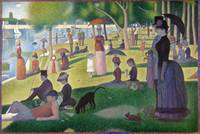 A Sunday on La Grande Jatte, Georges Seurat, 1884