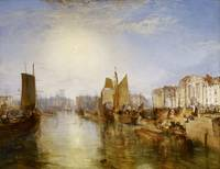 Joseph Mallord William Turner - The Harbor of Diep
