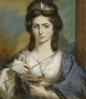 GEORGIANA SPENCER DUCHESS OF DEVONSHIRE AS CIRCE