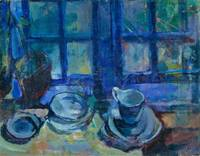 Ludvig Karsten - The blue Kitchen