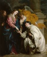 Anton van Dyck - The Vision of the Blessed Hermann