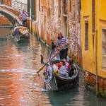 """Venetian Gondolas"" by mjphoto-graphics"