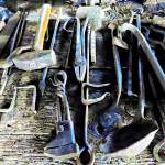 """Blacksmith Tools"" by susansartgallery"