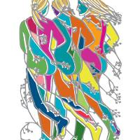 Ladies of Vigeland 1 Art Prints & Posters by Paco Dozier Graphics