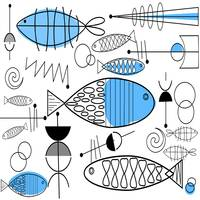 Kitschy Fish and Abstracts