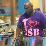 """Steel Pan Man, Grand Case, St. Martin"" by RoupenBaker"