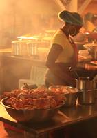 Steam Chef, Lolo's, Grand Case, St. Martin