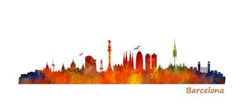 Cityscape Skyline SPAIN Barcelona 02