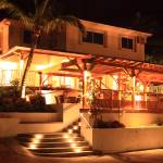 """Island House at Night, St. Martin"" by RoupenBaker"