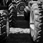 """Tractor Tire LineUp"" by LukeMoore"