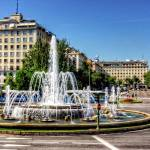 """Fountain in Paseo de la Castellana"" by TomGomez"