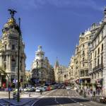 """""""The end of the Calle de Alcalá"""" by TomGomez"""
